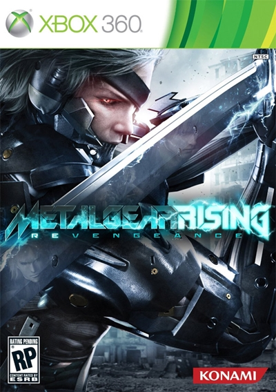 Metal Gear Rising Revengeance Xbox 360 Cover